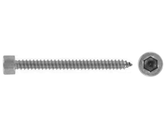 Tapping screws with head according to DIN 912