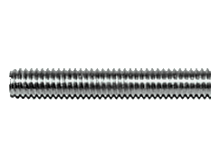 Stud bolts with left-hand thread