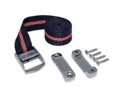 Battery hold-down strap