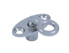 Swivel locking eye, 90° angle