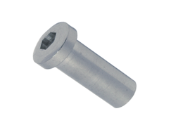 ESS dome case nut with internal thread and hexagon socket, right thread