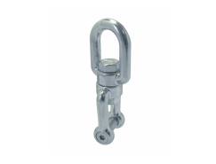 Eye and jaw swivel shackle with hexagon socket